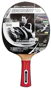 Donic Schildkröt Tischtennis-Schläger Waldner 1000 inkl. Lern-DVD, schwarz / rot