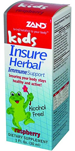 (Zand Kids' Insure Herbal-Raspberry, 1-Ounce (Pack of)
