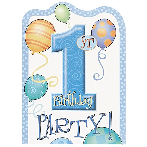 1st Birthday Boy Invitations - 5