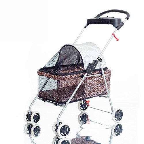 NAUY- Portable Licht Haustier Cart Save Katze Hund Trolley Faltbar waschbar Haustier Auto ( Farbe : #1 )