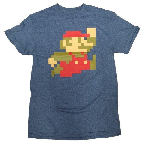 Nintendo Super Mario Bros 8-Bit Pixel Sprite T-Shirt