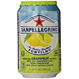 San Pellegrino Sparkling Beverage, Grapefruit-11.2 oz, 6 ct