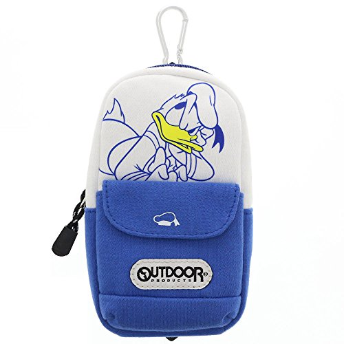 JP PRODUCTS Stand Pen case with Donald Duck/Carabiner