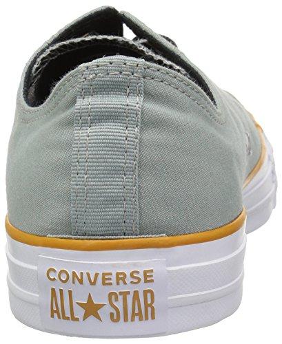 Unisex Star Converse Green Block Color white Mica Chuck turmeric Adulto Gold Collo Taylor Basso All H8xqg8n
