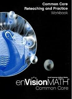 Amazon envision math grade 5 9780328489749 scott foresman books math 2012 common core reteaching and practice workbook grade 5 fandeluxe Images