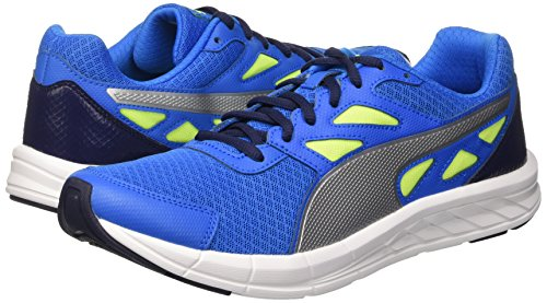 Puma Driver Sneaker Lemonade Electric Blue/Silver/Yellow Safety 9,5