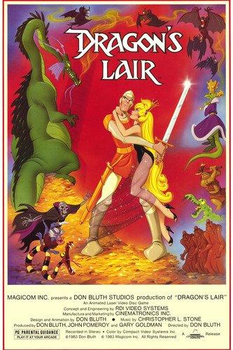Dragon's Lair 24x36 Poster great artwork