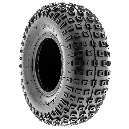 SunF 145/70-6 145/70x6 ATV UTV All Terrain Trail Replacement 6 PR Tubeless Tires A011, [Set of 2] by SUNF (Image #5)