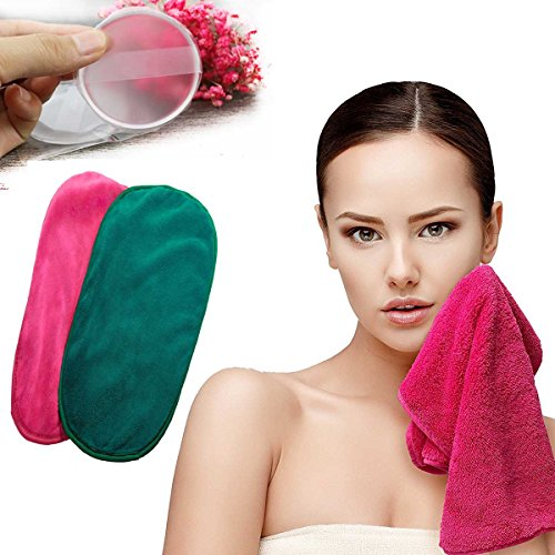 Price comparison product image Makeup Remover Cloth - Chemical Free Move Makeup Instantly with Just Water - Reusable Facial Cleansing Towel Satisfaction Guaranty