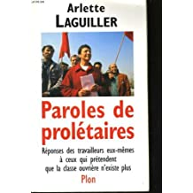 Paroles de proletaires
