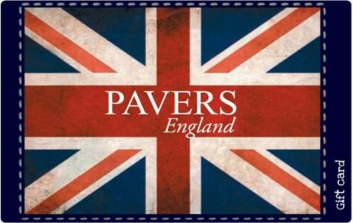 Get Flat 9% off at Checkout||Pavers England Gift Card