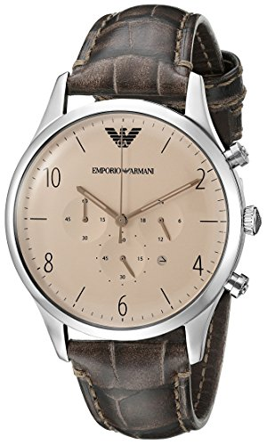 Emporio-Armani-Mens-AR1878-Dress-Brown-Leather-Watch