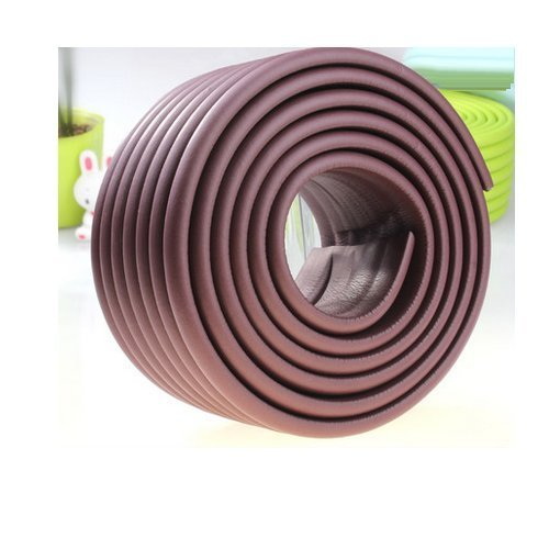AUCH Extra Dense Furniture Table Wall Edge Protectors Foam Baby Safety Bumper Guard Protector, 2 Meters (6.5 Ft) Long * 8 CM Wide
