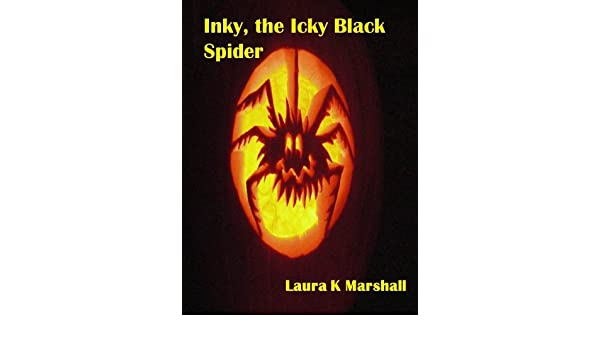 Inky, the Icky Black Spider