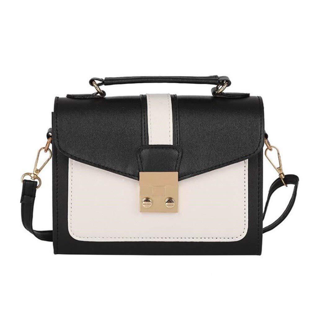 Hot 2018 Arrival Fashion Women Lady Leather Handbag Satchel Shoulder Crossbody Messenger Bag Tote Patchwork