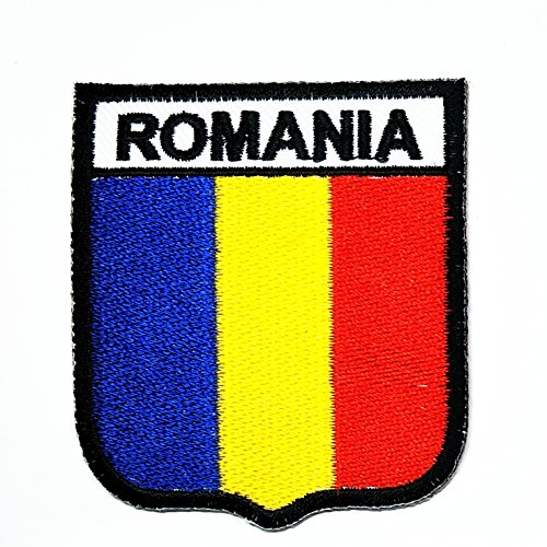 - HHO Romania Country Flag Patch National flag Patch Embroidered DIY Patches, Applique Sew Iron on for everyone Craft Patch for Bags Jackets Jeans Clothes Patch Jacket T-shirt Sew Iron on Costume