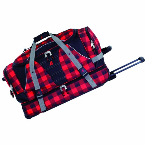 Athalon Luggage 29 inch Over Under Duffel, Lumberjack, One Size by Athalon
