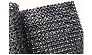 40x60 Gummimatte Ringgummimatte Schmutzfangmatte Ringmatte 22mm 5 Gr/ö/ßen