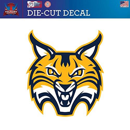 Victory Tailgate Quinnipiac University Bobcats Die-Cut Vinyl Decal Logo 1 (Approx 6x6) (University Quinnipiac)