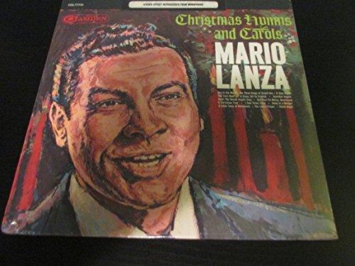 MARIO LANZA christmas hymns & carols LP Used_VeryGoodCAS-777 Vinyl 1963 Record