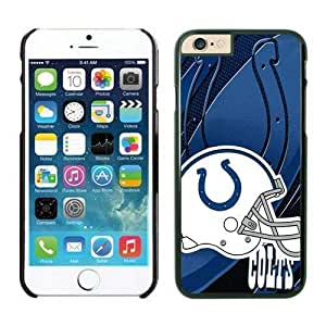 NFL iPhone 6 Plus 5.5 Inches Case Indianapolis Colts Black iPhone 6 Plus Cell Phone Case ONXTWKHB1913