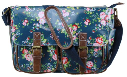 Miss Lulu, Borsa a secchiello donna Royal Blue