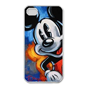 iphone4 4s Case, Disney Mickey Mouse Minnie Mouse Cell phone case White for iphone4 4s - SDFG8756019
