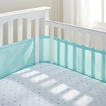 BreathableBaby Breathable Mesh Crib Liner 2014 (Aqua Mist)