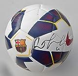Rafinha FC Barcelona Signed Soccer Ball w/COA Barca Futbol #1 - Autographed Soccer Balls