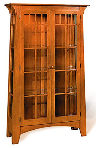 (Build-Your-Own Mission Contemporary Curio Cabinet Plan – American Furniture Design)