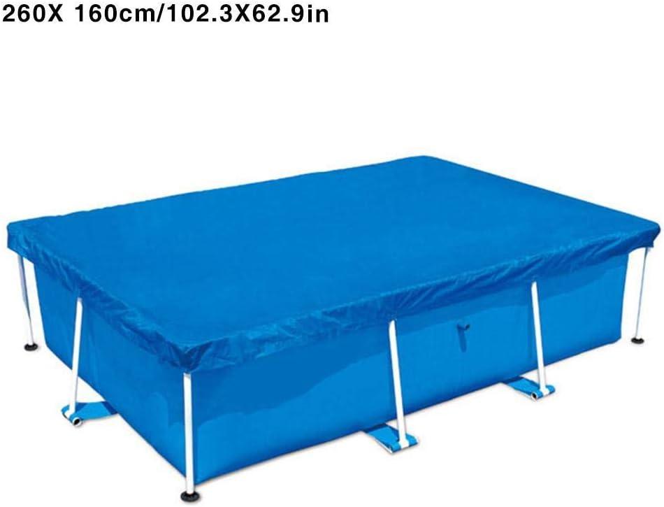 vap26 Funda para alberca poliéster, fácil de Usar, Antipolvo, Rectangular, Resistente al Agua, Show, 260 x 160cm