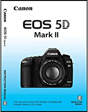 User's Instruction Manual Book for Canon EOS 5D Mark II Digital Camera