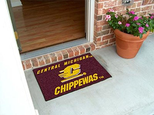 Central Michigan Starter Rug (Wholesale Starter Mat Central Michigan University)