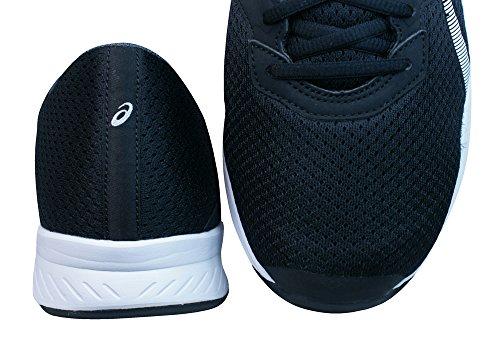 Asics Fuzor, Zapatillas de Deporte para Hombre Black/White