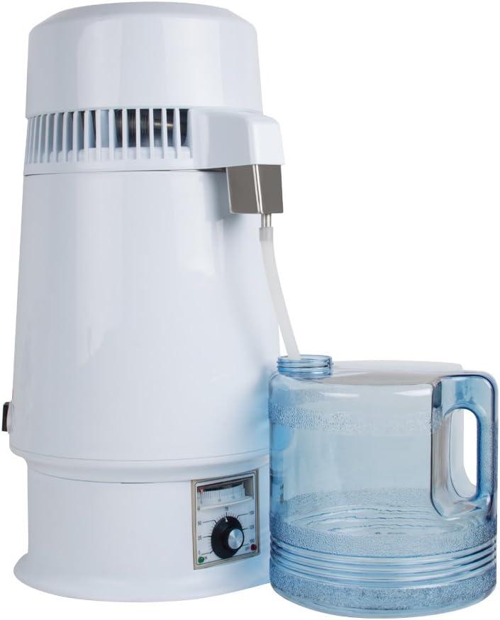 Pevor Distilador de agua temperatura regulable de acero inoxidable ...