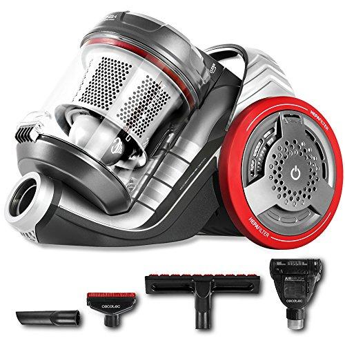 Cecotec Conga EcoExtreme 3000 - Aspirador Trineo Ultra Silencioso, Maxima Potencia, Minimo Consumo, Capacidad de 3,5 l, Filtro HEPA, Ligero y Manejable
