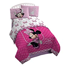 Disney Minne Boutique Faux Fun Sheet Set, Twin