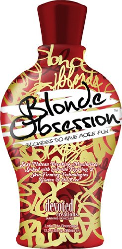 Devoted Creations Blonde Obsession Lotion 12 oz. (Best Indoor Tanning Lotion Without Bronzer)