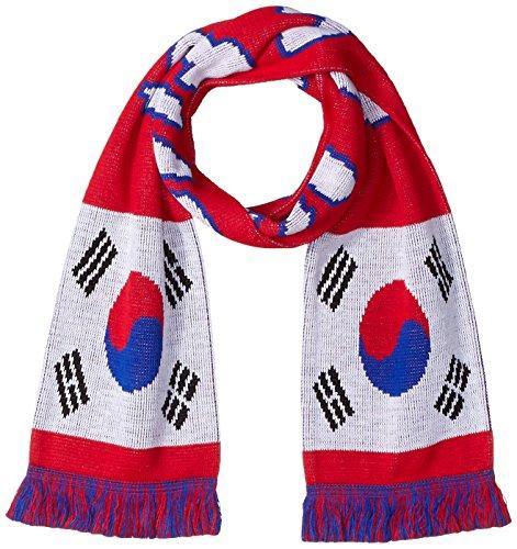 RUFFNECK International Soccer, Bufandas de Bandera por país, Talla única, Varios Equipos, Bufandas del Equipo Nacional de...