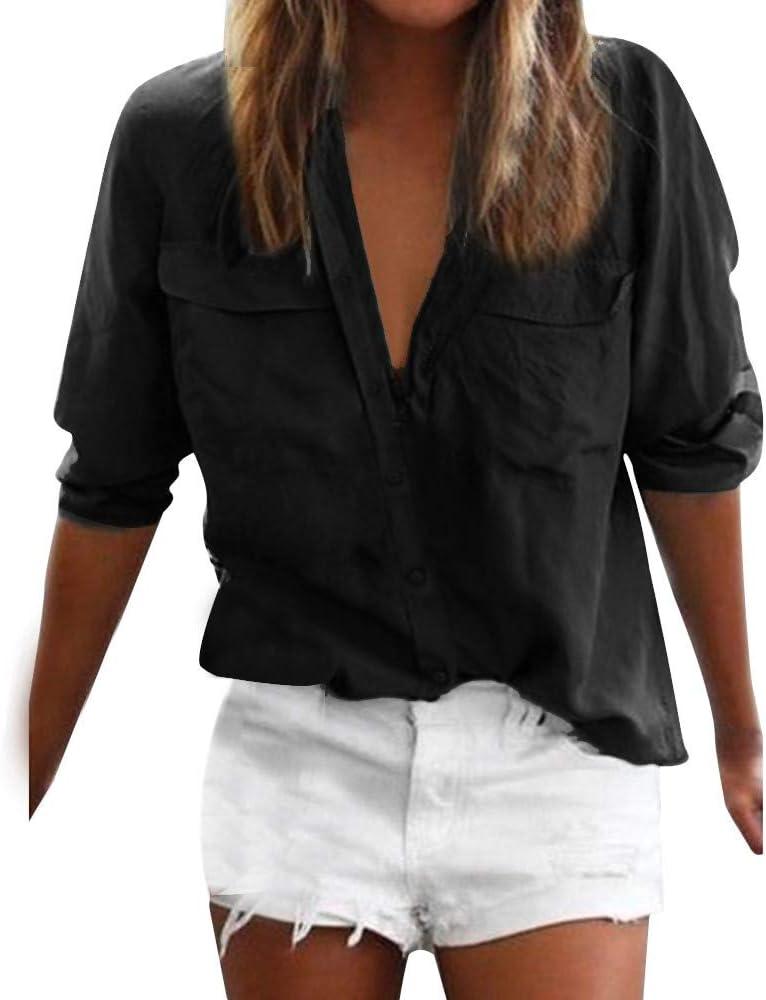 ALIKEEY-Top Shirt Camisas Mujer Manga Larga Lencería Mujer Mono Mujer Cuero Ropa Interior Super Cremallera Hueco Camisóntalla Extra Tops Blusas Camisa De Mujer: Amazon.es: Ropa y accesorios