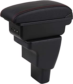 For Sport 2013-2017 Armrest Storage Box Organizer Insert Tray Central Console