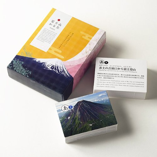 Fuji carte da gioco (con traduzione in inglese) (japan import)