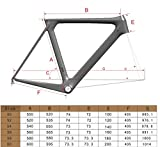 ICAN Full Carbon Aero Road Bike Frameset BB86 UD