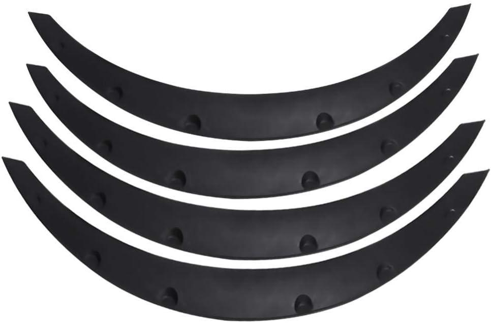 Protezione sopracciglia per passaruota 2PCS protezione per parafanghi cuscinetto in gomma antigraffio
