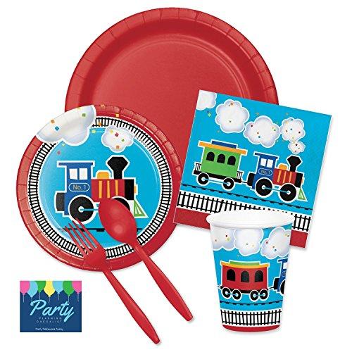 steam train party supplies - 4