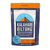 Biltong - Air Dried Beef, Zero Sugar -- Better than Jerky - 2 oz - 1 Pack (Original)