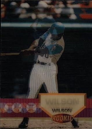 Amazoncom 1994 Sportflics Baseball Card 158 Nigel Wilson Near