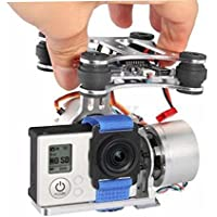 Assembled RTF Brushless Camera Mount Gimbal with Motor Controller for Gopro Hero3 on DJI Phantom F450 F550 X 525 Walkera QR X350 quadcopter