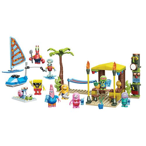 Mega Bloks SpongeBob Beach Resort Figure Pack