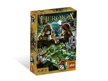 Lego Juegos De Mesa 3858 Heroica El Bosque Waldurk Amazon Es